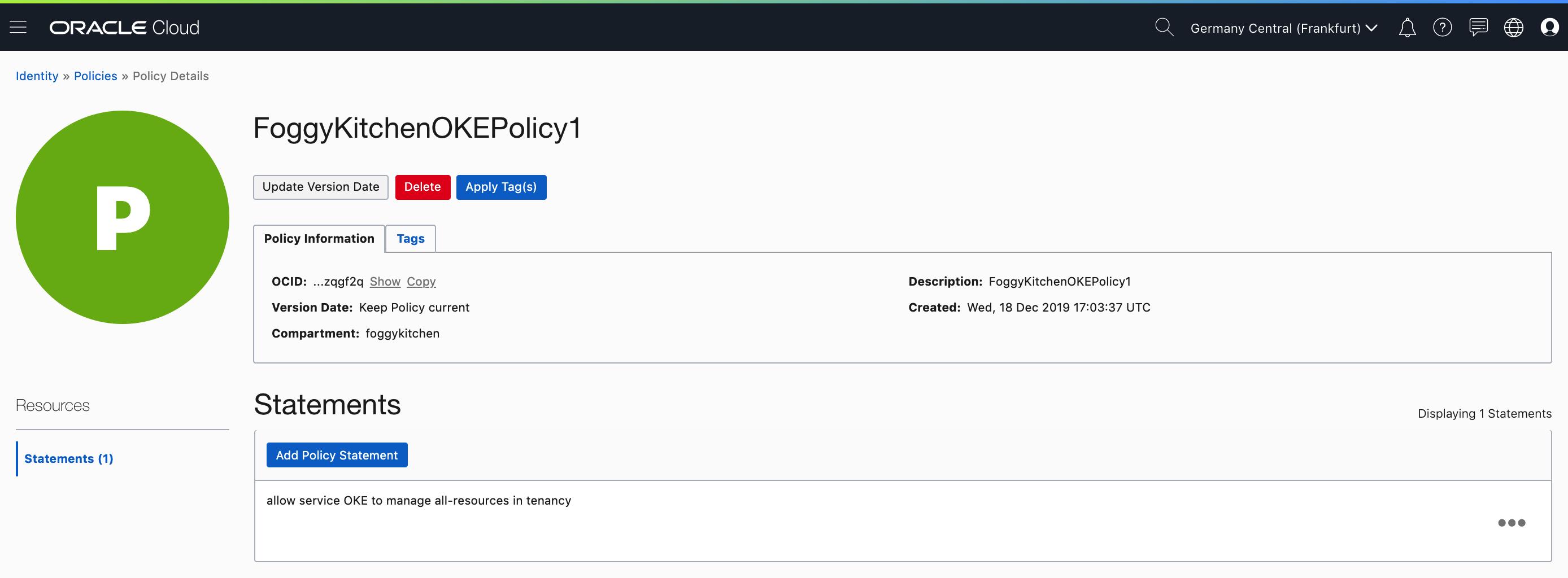 OKE_policy